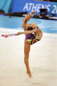 Красотка Ирина Чащина демонстрирует супер растяжку на чемпионатах фото #6
