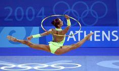 Красотка Ирина Чащина демонстрирует супер растяжку на чемпионатах фото #7