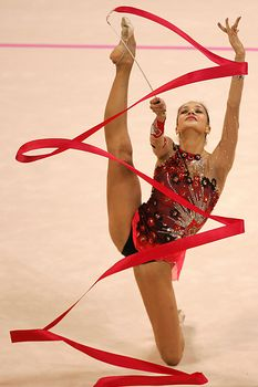 Красотка Ирина Чащина демонстрирует супер растяжку на чемпионатах фото #12