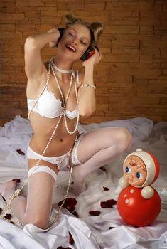 Кристина Асмус в эротическом белье фото #2