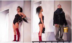 Сексуальная Кристина Асмус в спектакле «Язычники» фото #5