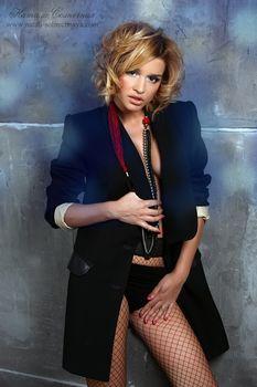 Эротический наряд Ксении Бородиной в фотосессии Натали Солнечной фото #2