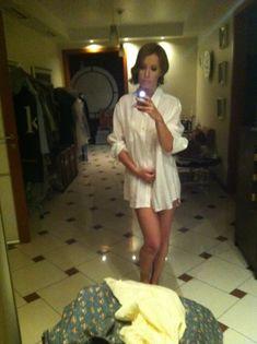 Украденные фото Ксении Собчак с её телефона фото #7