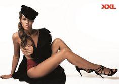 Эротичная Мария Горбань для журнала XXL фото #7