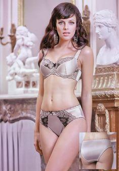 Мария Сёмкина в нижнем белье для рекламы фото #9