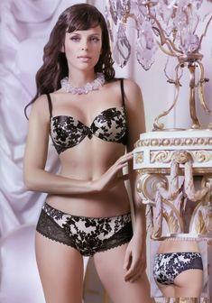 Мария Сёмкина в нижнем белье для рекламы фото #12