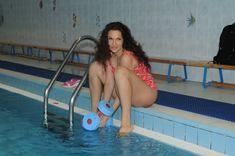 Соблазнительная Эвелина Блёданс в купальнике фото #3