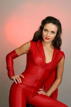 Анна Снаткина в эротическом наряде фото #1