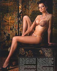 Виктория Талышинская в эротическом белье для журнала XXL фото #4