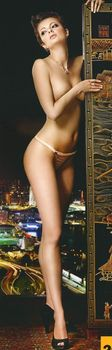 Виктория Талышинская в эротическом белье для журнала XXL фото #6