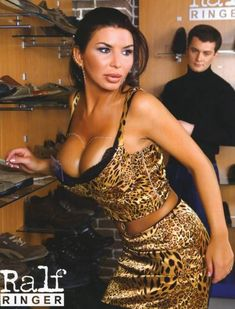 Голая грудь Ирэн Феррари в журнале Penthouse фото #8
