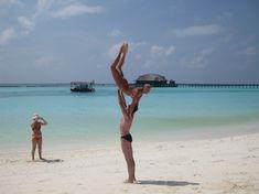Анастасия Волочкова показала голую грудь на Мальдивских островах фото #9