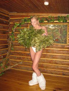 Анастасия Волочкова топлесс в бане фото #3