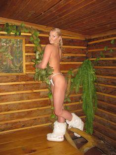 Анастасия Волочкова топлесс в бане фото #5