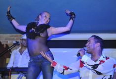 Анастасия Волочкова засветила голую грудь на вечеринке журнала «Телепрограмма» фото #2