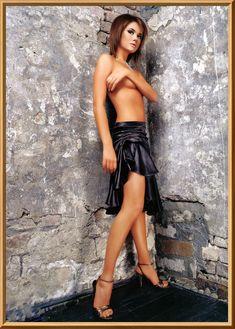 Анастасия Трегубова топлесс в эротической фотосессии фото #5