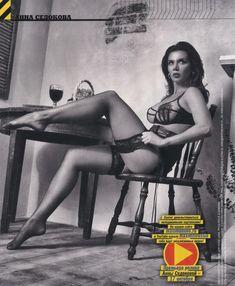 Анна Седокова в эротическом белье для журнала MAXIM фото #3
