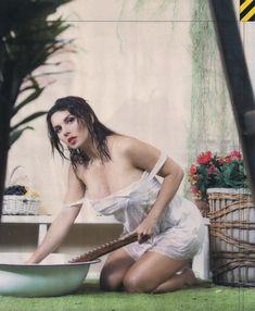 Анна Седокова в эротическом белье для журнала MAXIM фото #5