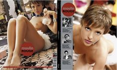 Голая грудь Галины Звягинцевой в журнале Moulin Rouge фото #1
