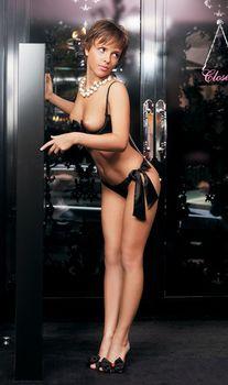 Голая грудь Галины Звягинцевой в журнале Moulin Rouge фото #5