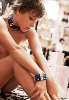 Голая грудь Галины Звягинцевой в журнале Moulin Rouge фото #13