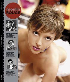 Голая грудь Галины Звягинцевой в журнале Moulin Rouge фото #18