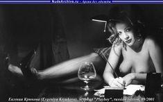 Евгения Крюкова оголила грудь в Playboy фото #8