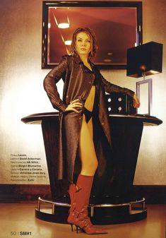 Сексуальная Екатерина Гусева в журнале Strong man фото #11