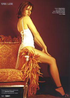 Сексуальная Екатерина Гусева в журнале Strong man фото #13
