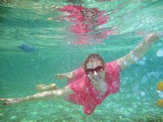 Елена Ленина показала голую грудь под водой на отдыхе на Мальдивских островах фото #1