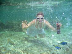 Елена Ленина показала голую грудь под водой на отдыхе на Мальдивских островах фото #2
