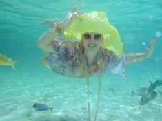 Елена Ленина показала голую грудь под водой на отдыхе на Мальдивских островах фото #3