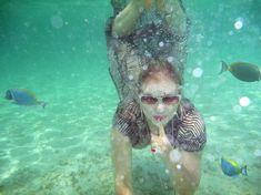 Елена Ленина показала голую грудь под водой на отдыхе на Мальдивских островах фото #4