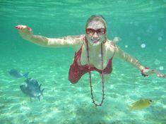 Елена Ленина показала голую грудь под водой на отдыхе на Мальдивских островах фото #5