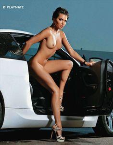 Инесса Тушканова обнажилась для журнала Playboy фото #4