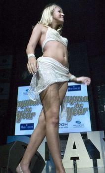 Пикантный образ Ксении Собчак на вечеринке Playboy фото #2