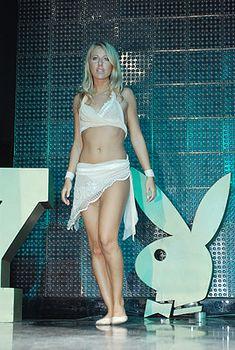 Пикантный образ Ксении Собчак на вечеринке Playboy фото #5