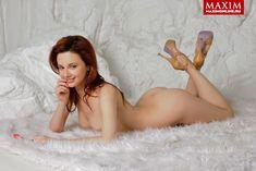 Обнаженная Мария Климова в журнале «MAXIM» фото #8