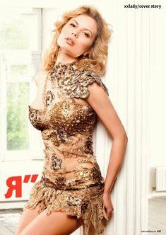 Анастасия Осипова позирует голой для журнала «XXL» фото #2