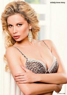 Анастасия Осипова позирует голой для журнала «XXL» фото #4