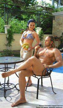 Наташа Королева позирует в купальнике для журнала «7 Дней» фото #3