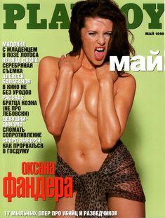 Сексуальная Оксана Фандера без одежды для «Playboy» фото #1