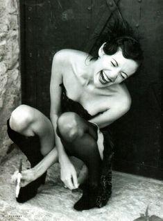 Сексуальная Оксана Фандера без одежды для «Playboy» фото #11