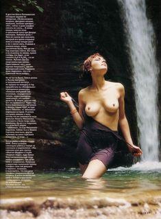 Олеся Поташинская снялась топлесс для «Playboy» фото #6