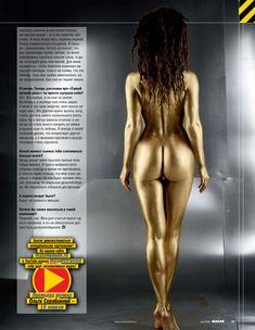 Ольга Серябкина снялась обнаженной для журнала «MAXIM» фото #11
