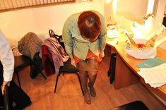 Ольга Тумайкина раздевается в гримерке фото #3