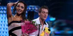 Татьяна Навка засветила грудь на съёмках «Лёд и Пламя» фото #3