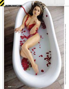 Юлия Маргулис снялась обнаженной для журнала «MAXIM» фото #2