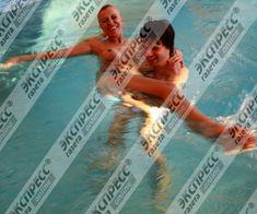 Юлия Шилова купается голой в бассейне фото #18
