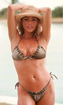 Сексуальное бикини Софии Вергары фото #3